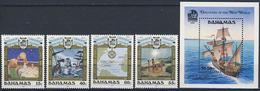 MVS-BK1-165 MINT ¤ BAHAMAS 1991 KOMPL. SET ¤ VOILIERS - ZEILSCHEPEN - SAILING SHIPS OVER THE WORLD - Maritiem