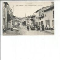 43-CRAPONNE ENTREE DU BOURG ET GROUPE DE DENTELLIERES - Craponne Sur Arzon