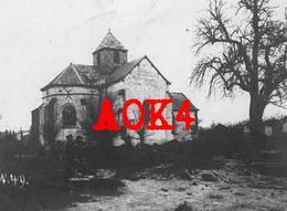 51 Marne Vaudesincourt Eglise Auberive Dontrien Suippe 1916 Occupation Allemande Champagne - France