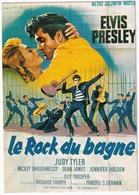 E 14 - 'LE ROCK DU BAGNE'  - Elvis Presley - (Affiches Cinema) - Posters Op Kaarten