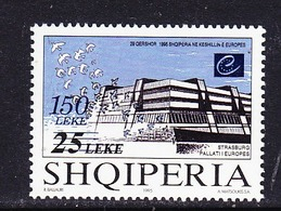 Albania 1999 50Y Council Of Europe 1v ** Mnh (44608) - Europese Gedachte