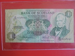 ECOSSE ONE POUND 1980 CIRCULER (B.7) - Scozia