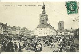 62 - BETHUNE / JOUR DE MARCHE SUR LA GRAND' PLACE - Bethune