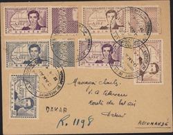 Centenaire René Caillé Guinée YT 148 149 150 Soudan 100 101 102 Recommandé Fortune Dakar CAD Voyage Président République - 1939 Centenaire De René Caillé