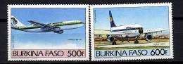 Burkina-Faso ** PA N° 286/287 - Avions Anciens Et Modernes - Burkina Faso (1984-...)