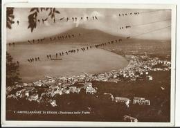 CASTELLAMMARE DI STABIA - PANORAMA DALLE FRATTE F/PICCOLO VIAGGIATA 1937 - Castellammare Di Stabia