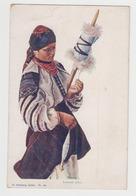 OR540 - UKRAINE - Illustration Signée M. SOZANSKI - Sozanski Pinx - Costume Traditionnel - Ukraine