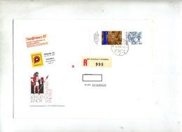 Lettre Recommandée Solothurn Sur Echec Folklore - Marcofilia