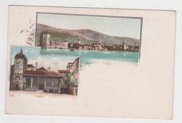 OR541 - CROATIE - Traù - Castel Camerlengo - Loggia - Ilustration - Kroatië