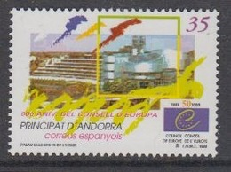 Andorra Sp. 1999 50Y Council Of Europe 1v ** Mnh (44608A) - Europese Gedachte