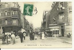 62 - BERCK PLAGE / RUE DE L'IMPERATRICE - Berck