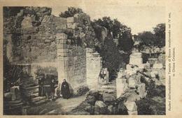 Catacombe Di S Giovani SiracusaRuderi Dell' Antichissimo Templo Du Bacco Transformato Nel IV  Sec In Chiesa Cristiana RV - Siracusa