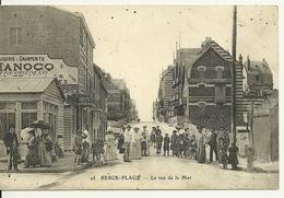 62 - BERCK PLAGE / LA RUE DE LA MER - Berck