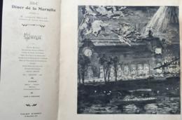 Grand Menu Ill Suae ? 294èm Diner De La Marmite Pour L Bellan Au Palais D'orsay 1910 - Menus