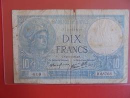 FRANCE 10 FRANCS 1939 CIRCULER (B.7) - 1871-1952 Antichi Franchi Circolanti Nel XX Secolo