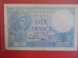 FRANCE 10 FRANCS 1940 CIRCULER (B.7) - 1871-1952 Antichi Franchi Circolanti Nel XX Secolo