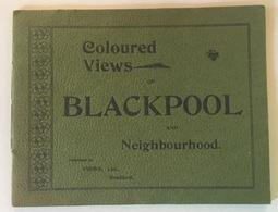 COLOURED VIEWS BLACKPOOL AND NEIGHBOURHOOD - Bücher, Zeitschriften, Comics
