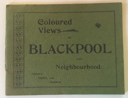 COLOURED VIEWS BLACKPOOL AND NEIGHBOURHOOD - Libri, Riviste, Fumetti