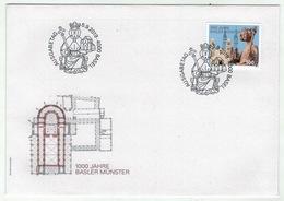 Suisse /Schweiz/Svizzera/Switzerland // FDC // 2019 // 100 Ans De L'église De Bâle , Lettre 1er Jour - FDC