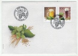 Suisse /Schweiz/Svizzera/Switzerland // FDC // 2019 // La Bière , Lettre 1er Jour - FDC