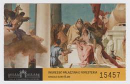 Vicenza, Villa Valmarana Ai Nani, Ingresso Palazzina E Foresteria (G. B. Tiepolo), S.d. - Biglietti D'ingresso