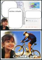 Série De 3 Cartes Postales - Mountain Bike