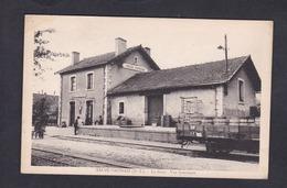 Vente Immediate Sauze Vaussais (79) La Gare - Vue Interieure ( Animée Train Chemin De Fer Ed. Philippin) - Sauze Vaussais