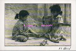 REF 419 : CPM 1990 Algérie Algéria Visage D'algérie Enfants - Kinderen