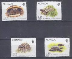 AA-/-110- TORTUES WWF -   N° 1805/08, * * , COTE 6.80 €  ,  Liquidation - Mónaco