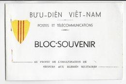 1952 - VIETNAM - CARNET RARE De 5 BLOCS SOUVENIR SANS GOMME MINr. BL6/10 - Vietnam