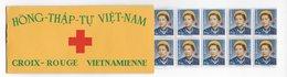 1952 - VIETNAM - CARNET RARE De 20 TIMBRES CROIX-ROUGE (YVERT N° C17) ** MNH - - Vietnam