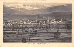 Orbe Et Le Mont D'Or - VD Vaud