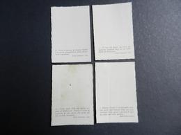 7ogg) DEANNA DURBIN 2° LOTTO DI 4 IMMAGINI 5,5 X 8,5 Cm - Artisti