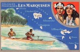 3726 Cpa Publicité Produits Chimiques Lion Noir - Les Colonies Françaises: Les Marquises - Advertising