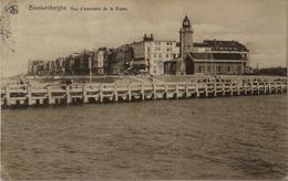 Blankenberge - Blankenberghe // Vue D' Ensemble De La Digue (phare - Vuurtoren) 1921 - Blankenberge