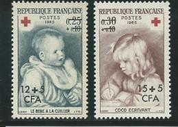 REUNION CFA: **, N° YT 366 Et 367, TB - Reunion Island (1852-1975)