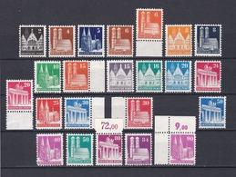 Bizone - 1948/52 - Michel Nr. 73/92 Wg + 94/96 Wg - Postfrisch - Bizone