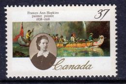 Canada 1989 150th Birth Anniversary Of Frances Hopkins, MNH, SG 1313 - 1952-.... Reign Of Elizabeth II