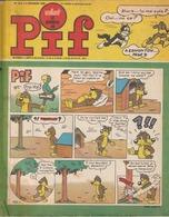 Rare Revue  Pif N°1214 Du 8 Septembre 1968 - Pif - Autres