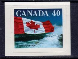 Canada 1989 Flag Self-adhesive 40c Value, MNH, SG 1328c - 1952-.... Reign Of Elizabeth II