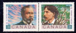Canada 1989 Canadian Poets Pair, MNH, SG 1329/30 - 1952-.... Reign Of Elizabeth II