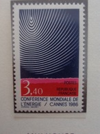 FRANCE 1986 CERES  N° 2430 ** - CONFERENCE MONDIALE DE L'ENERGIE - Francia