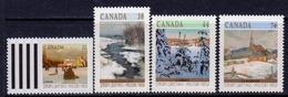 Canada 1989 Christmas Set Of 4, MNH, SG 1342/5 - 1952-.... Reign Of Elizabeth II