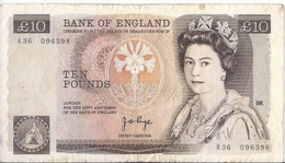 Regno Unito/United Kingdon/England - 10 Pounds 1978/82 - P.379a - 10 Pounds