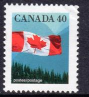 Canada 1989-2005 Flag Definitives 40c Value, MNH, SG 1355 - 1952-.... Reign Of Elizabeth II