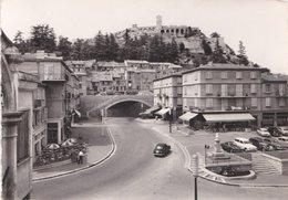 Carte 1950 SISTERON / LE TUNNEL ET LA CITADELLE (bar , Café) - Sisteron