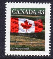 Canada 1989-2005 Flag Definitives 43c Value, MNH, SG 1357 - 1952-.... Reign Of Elizabeth II