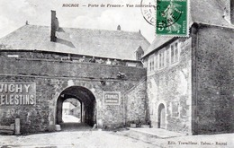 CPA -  ROCROI  (08)  Porte De France -  Vue Intérieure  ( Publicité Vichy Celestins ) - France