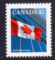 Canada 1989-2005 Flag Definitives 45c Value, MNH, SG 1358 - 1952-.... Reign Of Elizabeth II