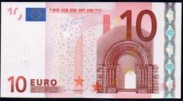 S  ITALIA  10 EURO  J006 I4 TRICHET  UNC - 10 Euro